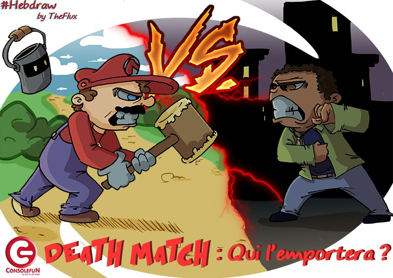 Hebdraw N° 17 : Mario VS Lincoln Clay !