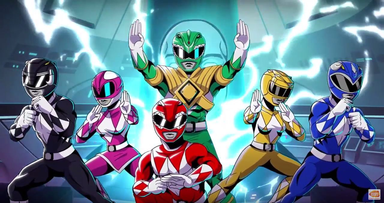 Mighty morphing power rangers mega battle : trailer d'annonce