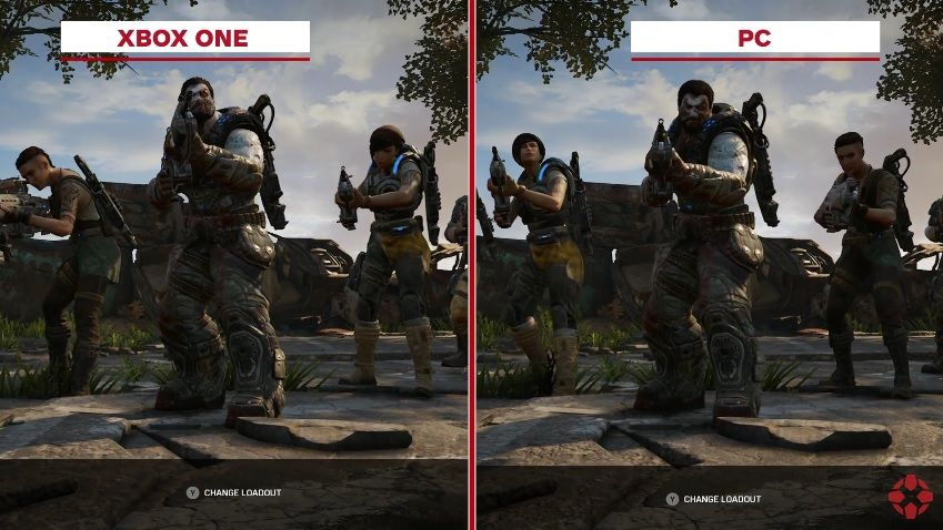 Gears of War 4 : Un comparatif graphique PC vs Xbox One
