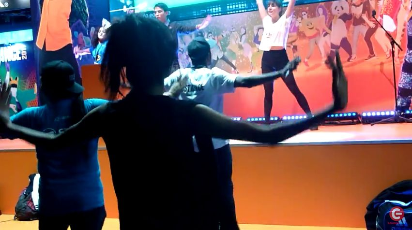 PGW 2016 : Just Dance 2017 met de l'ambiance sur le salon