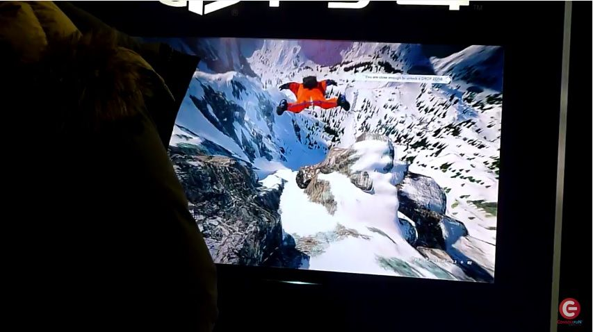 Steep : Une séquence exclusive de gameplay