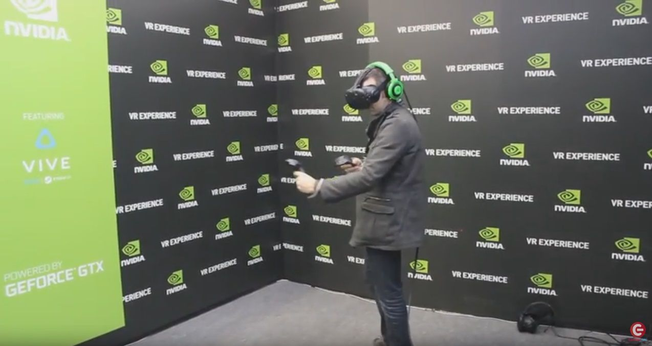 Paris Games Week 2016 : séquence de gameplay sur HTC Vive