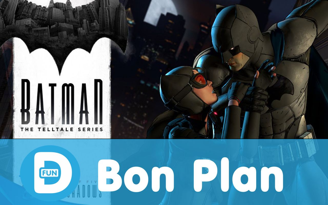 Bon Plan : Batman The Telltale Series (PS4) à 21 euros au lieu de 34,99...