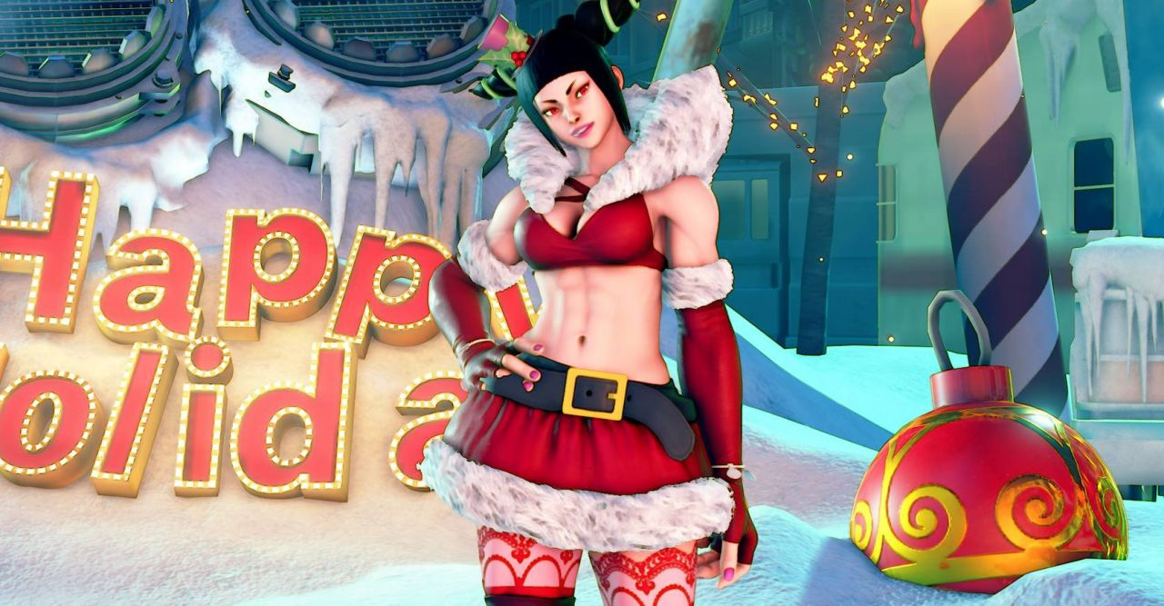 Street Fighter 5 : Joyeux Noël
