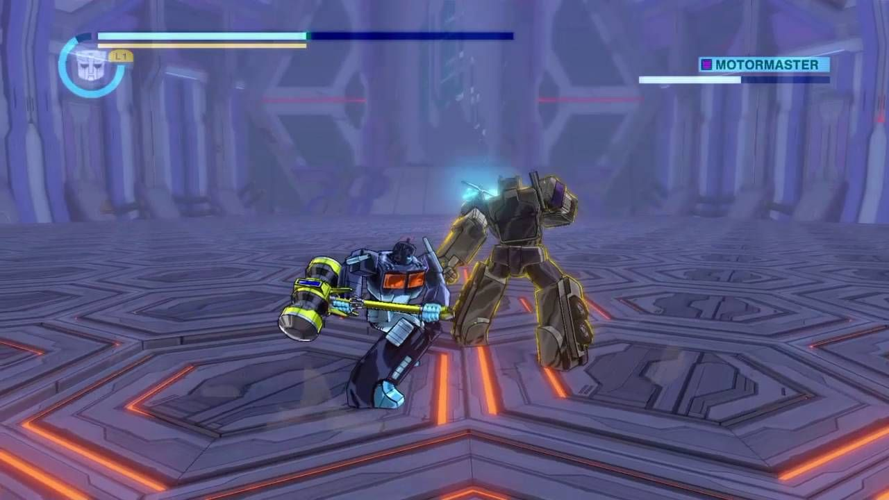 Transformers : Forge to Fight