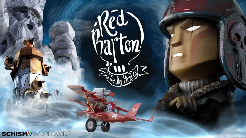 Red Barton and The Sky Pirates : Date, et nouveau trailer