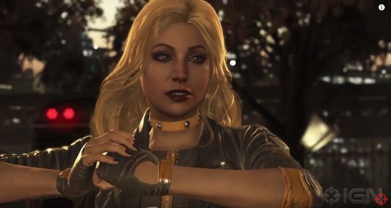 Injustice 2 : Black Canary entre en scène