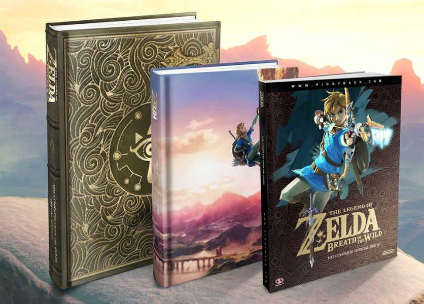 Zelda : Breath Of The Wild aura droit à son guide sous plusieurs versions !