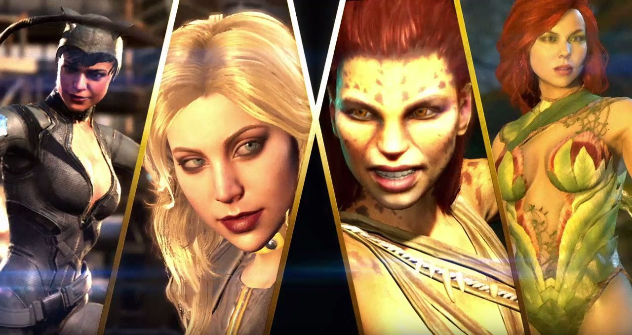 Injustice 2 : Girl Power !
