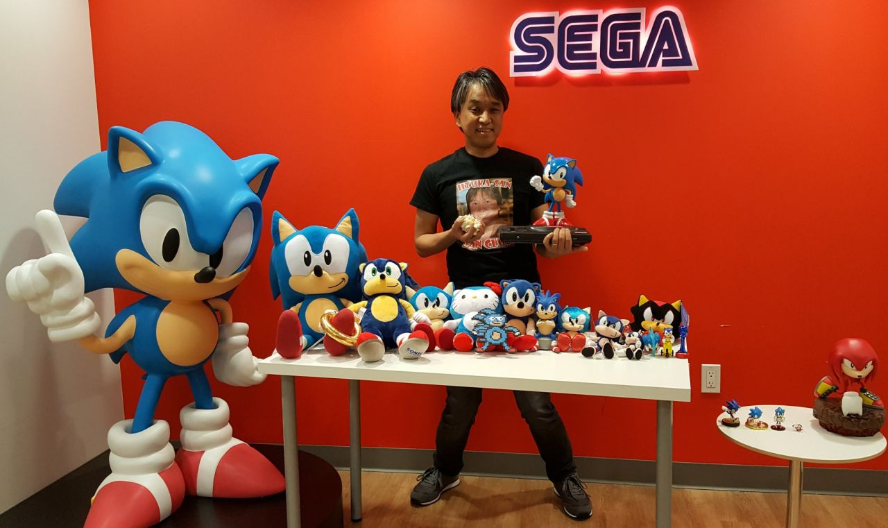 Sonic Mania : Une photo de la statuette de l'édition collector