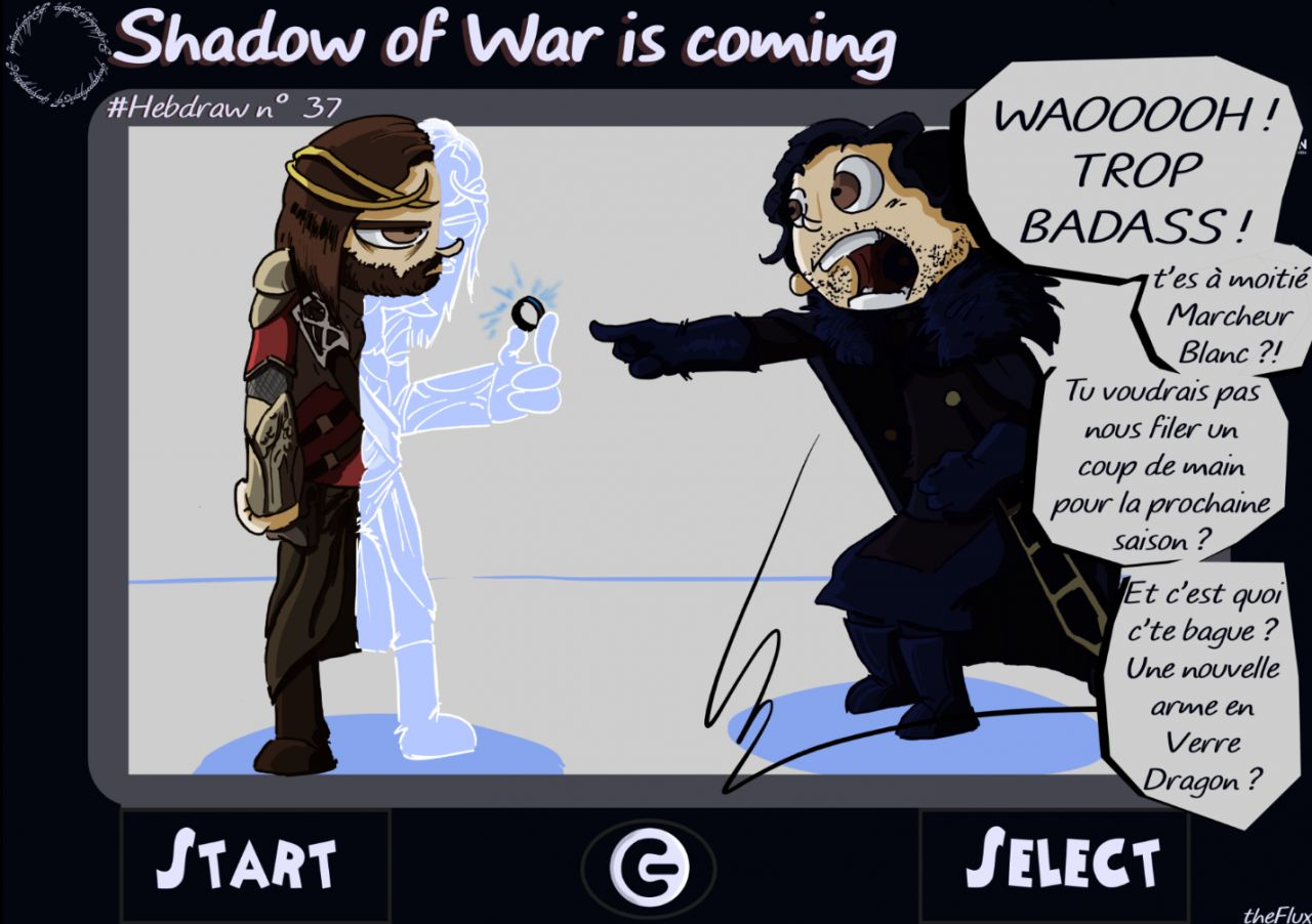 Hebdraw n° 37 : Shadow of the War is coming !