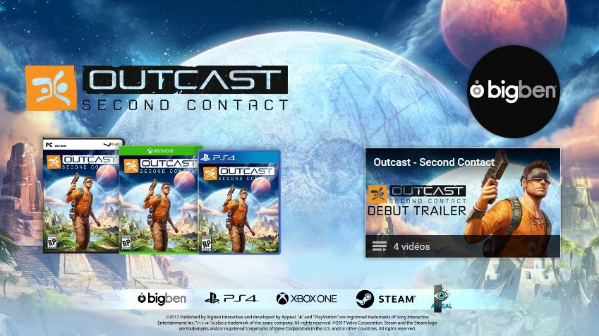 Outcast - Second Contact : Le premier trailer vient d'arriver !