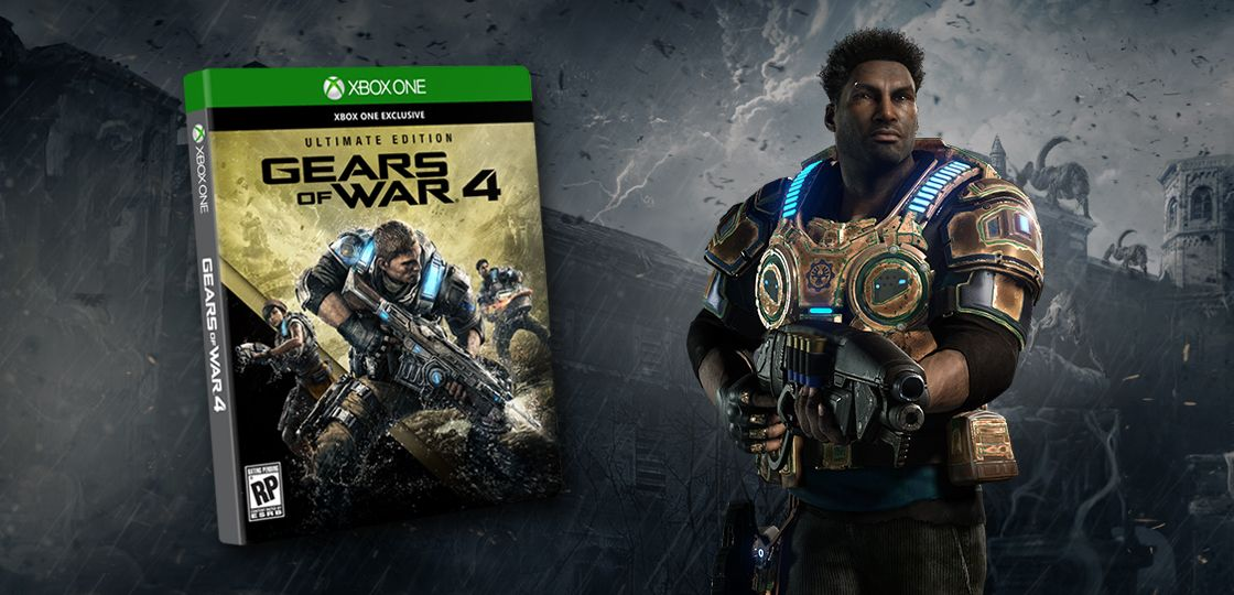 Bon Plan : Gears of War 4 Ultimate Edition à 49,9 euros (au lieu de 99....)
