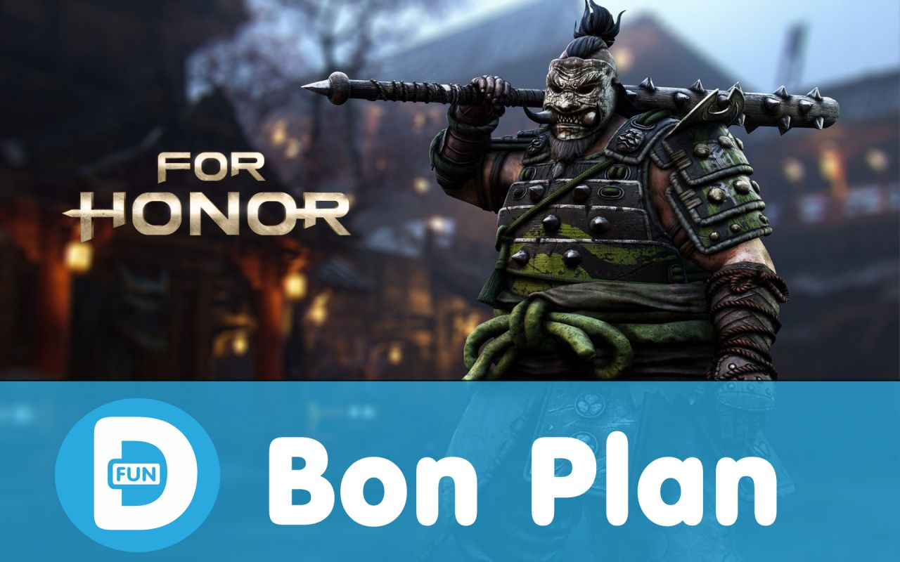 Bon Plan Ubisoft : For Honor sur PS4 et Xbox One à 31,35 euros !