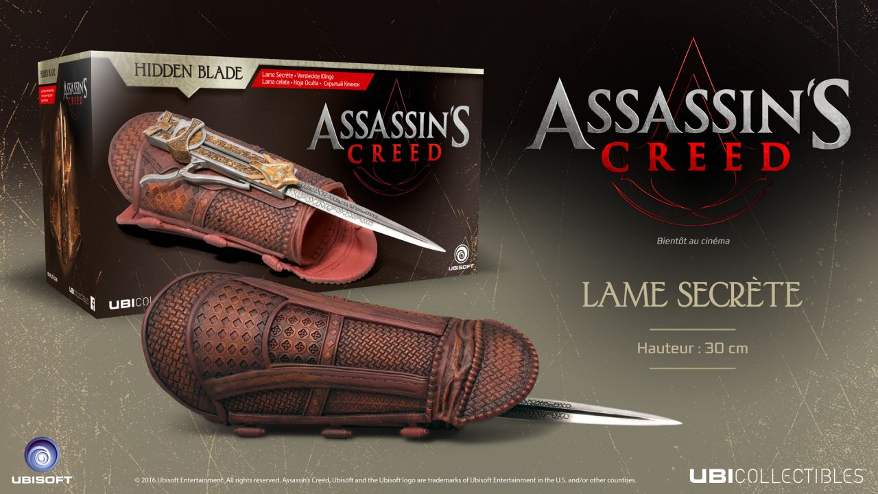 Bon Plan : Lame secrète Assassin's Creed à 29.97 euros (au lieu de 59.95...)
