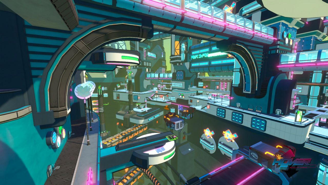 Hover - Revolt of Gamers : de nouvelles images lumineuses !