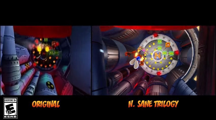 Crash Bandicoot N.Sane Trilogy : Vidéo comparative entre les versions Playstation et playstation 4
