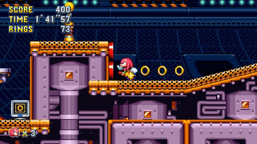 Sonic Mania : Vidéo de gameplay dans la Flying Battery Zone