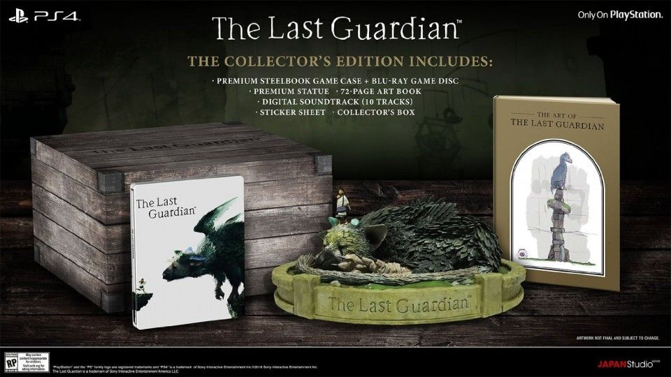 Bon Plan : L'édition collector de The Last Guardian à 54,99 euros (au lieu de 129...)