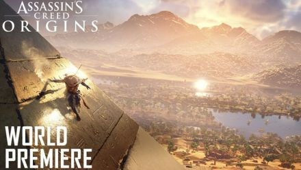 E3 2017 : Ubisoft sort l'artillerie lourde pour Assassin's Creed Origins