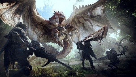 Monster Hunter : World - 25 minutes de gameplay en vidéo !