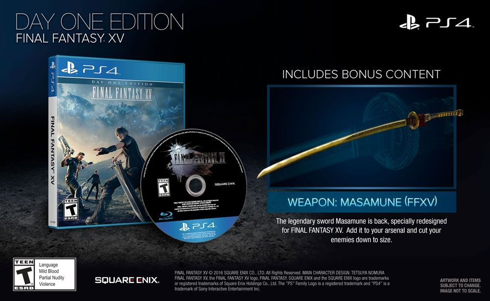 Soldes : Final Fantasy XV Edition Day One sur PS4 à 28,74 euros (au lieu de 39,99...)