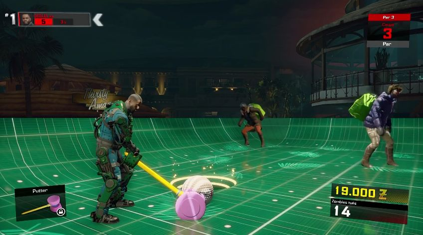 Dead Rising 4 : Jouer au mini-golf...c'est possible !