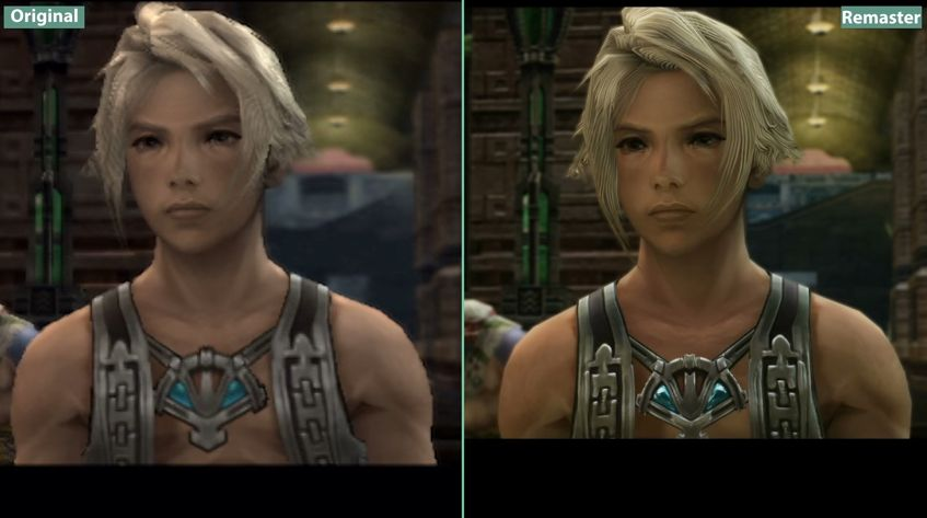 Final Fantasy XII The Zodiac Age : Comparatif graphique entre la version PS2 et PS4