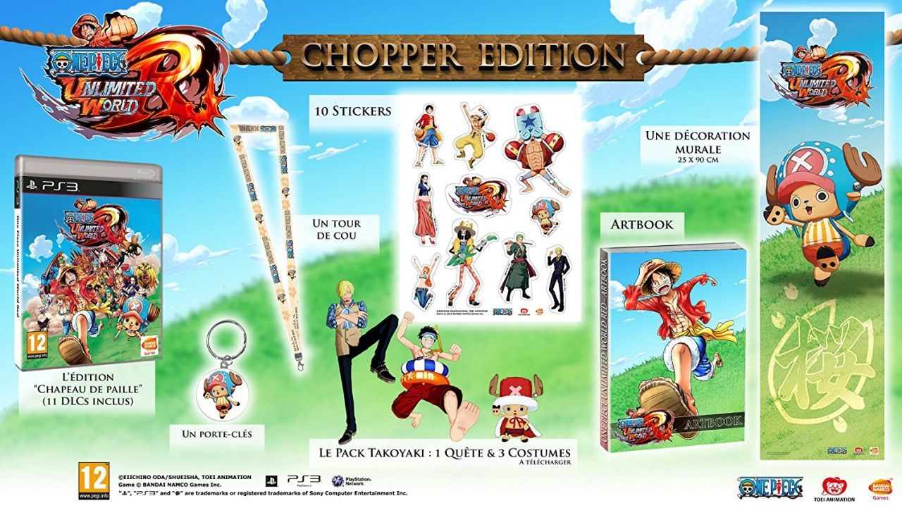 Bon Plan : L'édition collector de One Piece Unlimited World Red à 14,95 euros