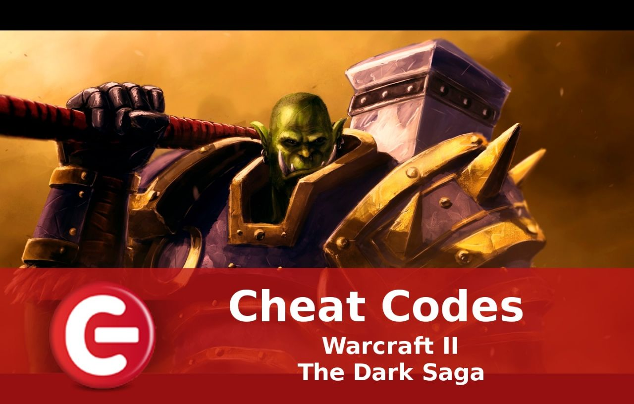 Warcraft II The Dark Saga : Soluce Cheat Codes