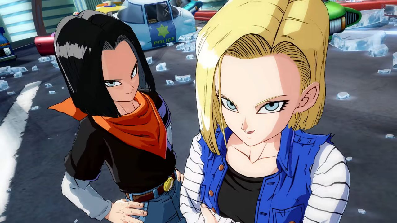 Dragon Ball FighterZ : Les androïdes débarquent