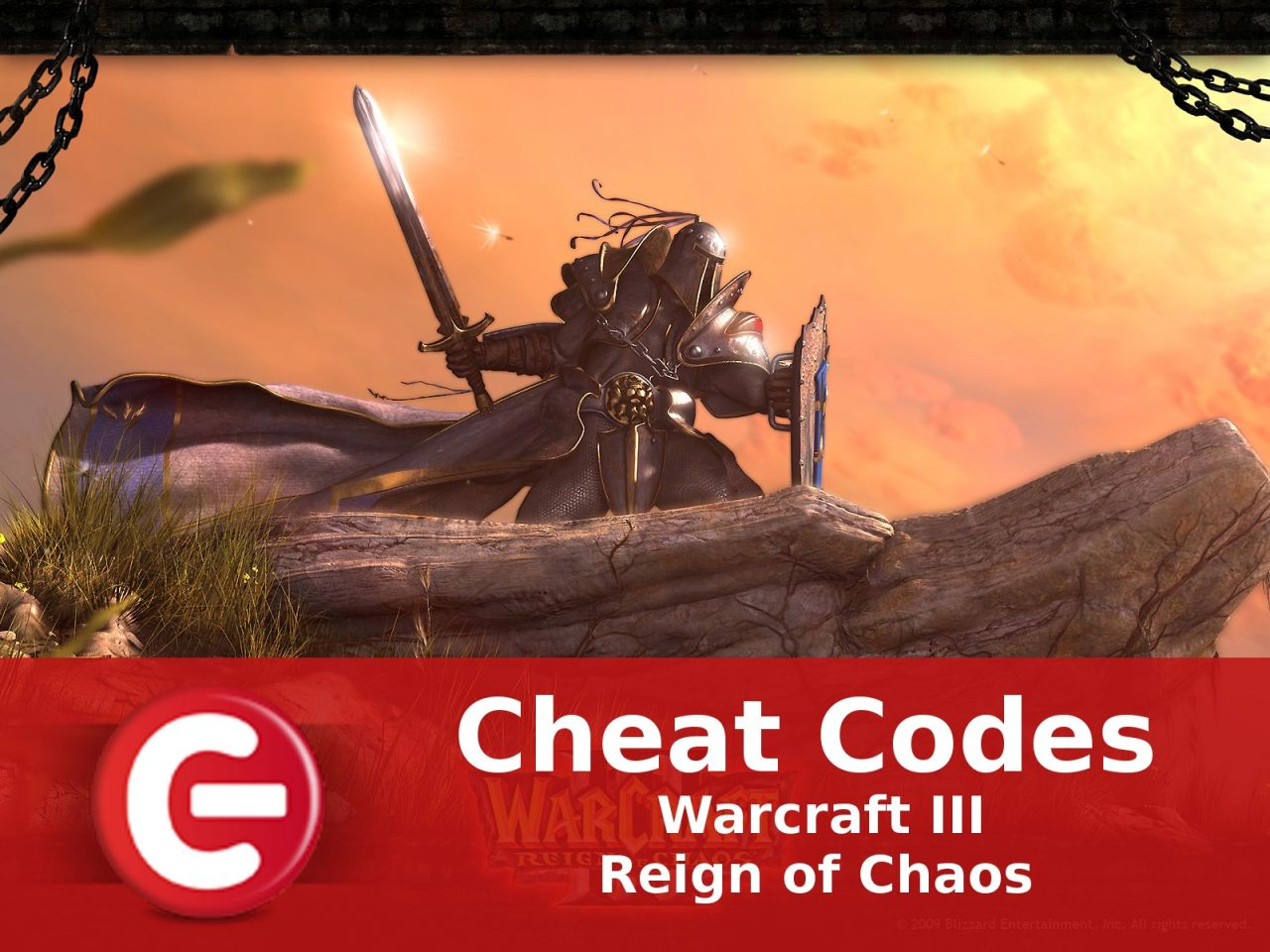 Warcraft III Reign of Chaos : Soluce Cheat Codes