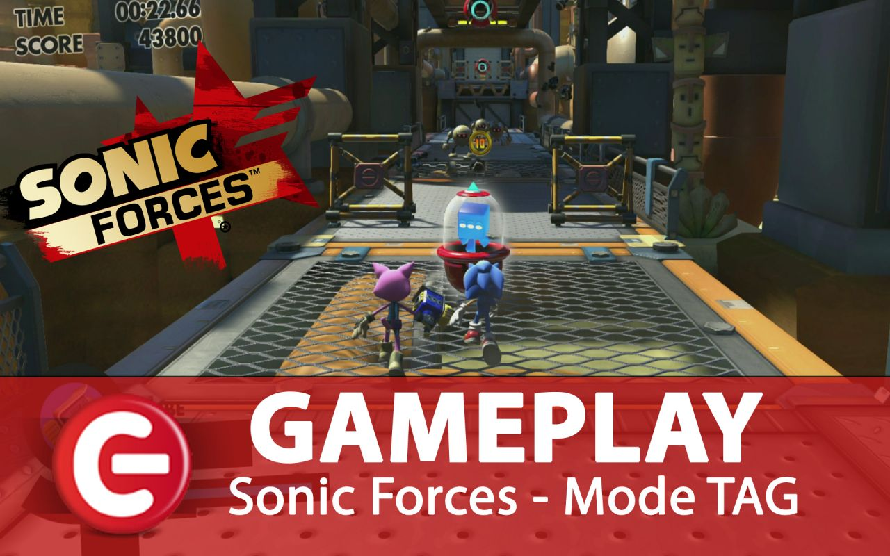 Sonic Forces : Une séquence de Gameplay du mode TAG