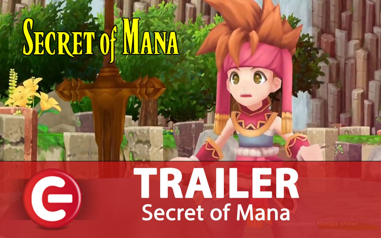 Secret of Mana : Le trailer d'annonce