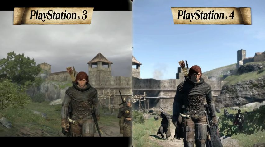 Dragon's Dogma Dark Arisen : Comparatif graphique des versions 'PS3 / PS4'