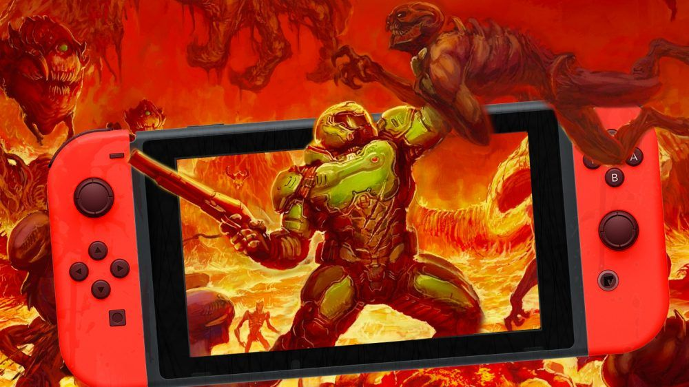 DOOM : Comparaison des versions PS4 et Nintendo Switch.
