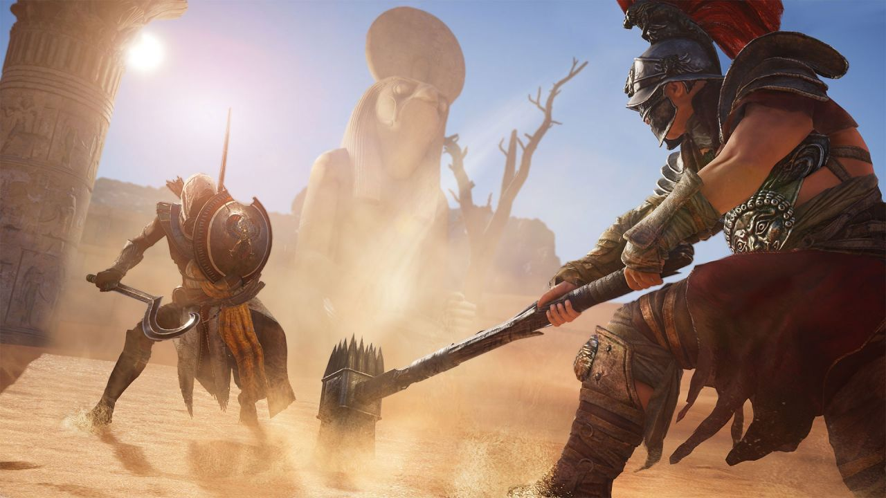 Assassin's Creed Origins : Du sable en Egypte ?
