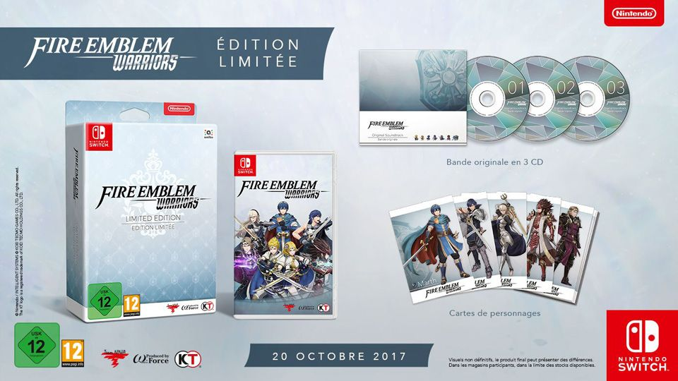 Bon Plan Amazon : Fire Emblem Warriors édition collector sur Switch à 63,69 euros (au lieu de 79,99...)