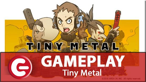 Tiny Metal : Un petit tactical pour la Switch [GAMEPLAY]