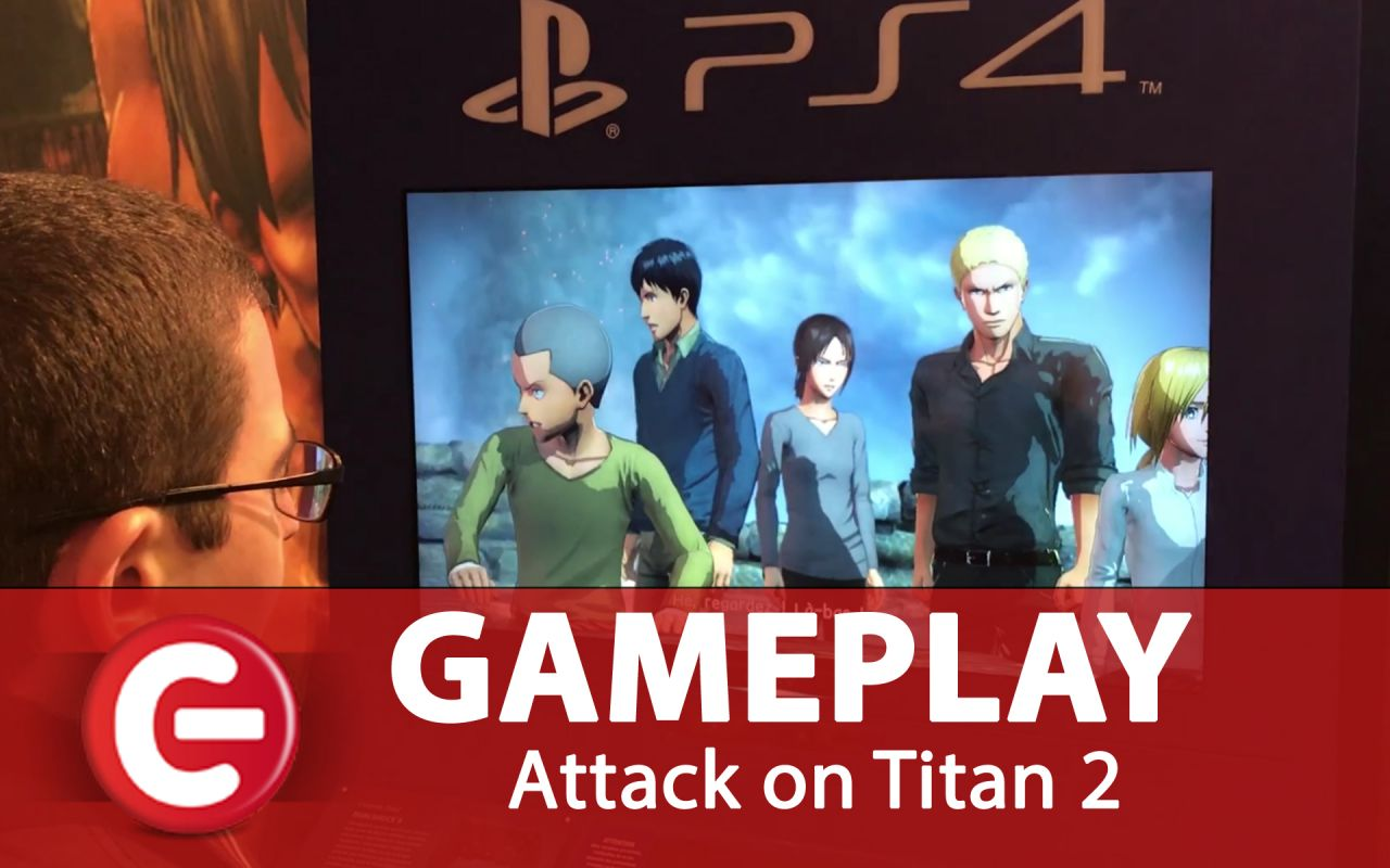 Attack on Titan 2 : Plus de 5 minutes de gameplay (off-screen)