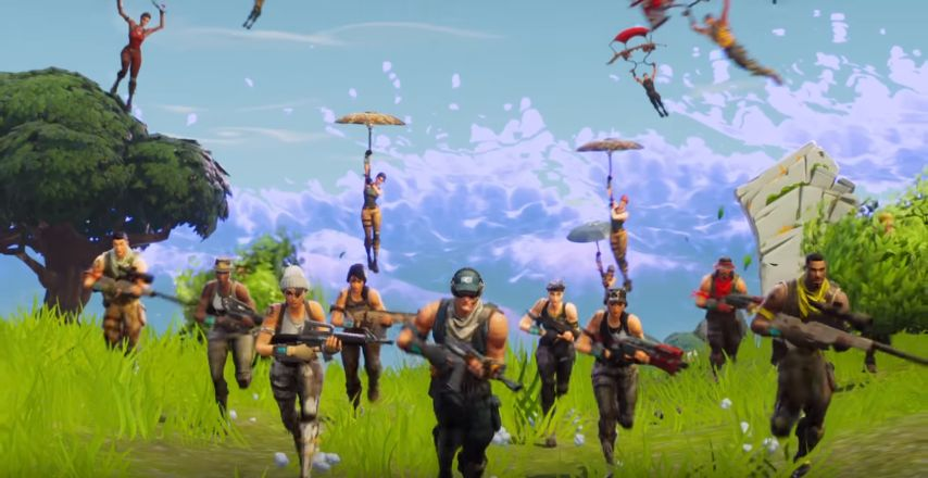 Fortnite Battle royale : Un mode 50v50