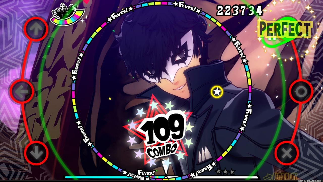Persona 5 Dancing Star Night : Une salve d'images