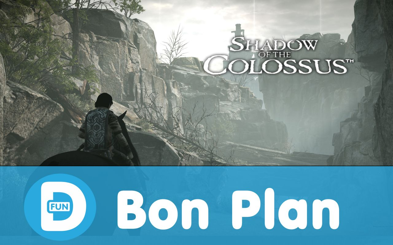 Bon Plan Précommande : Shadow of the Colossus à 33,49 euros (au lieu de 39,99...)