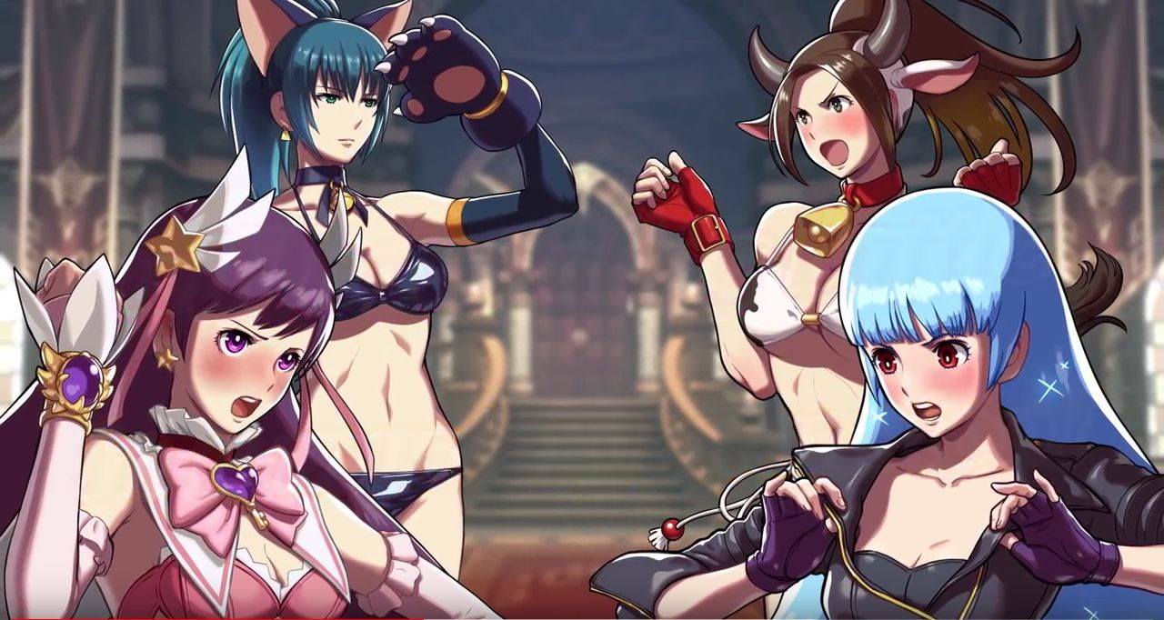 SNK Heroines Tag team frenzy : Trailer de l'EVO Japan 2018