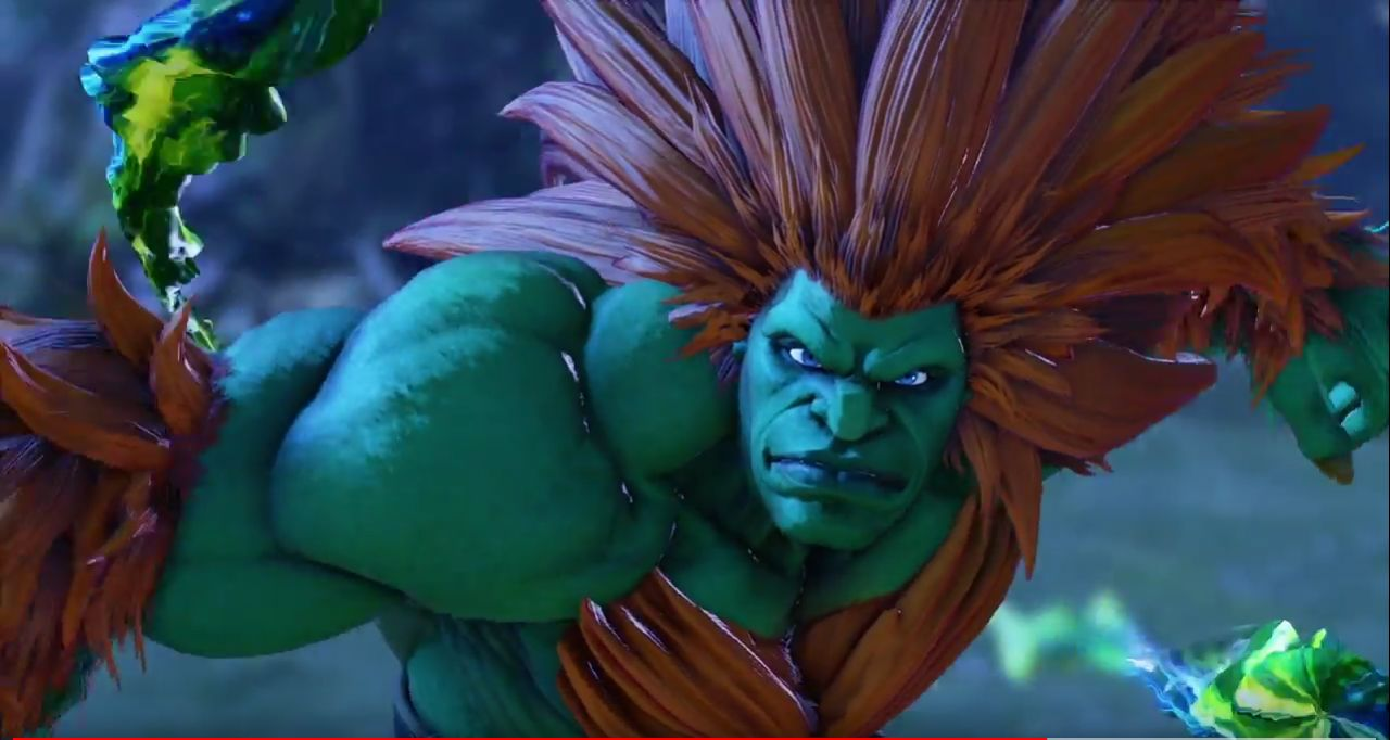 Street Fighter 5 Arcade Edition : Trailer de Blanka