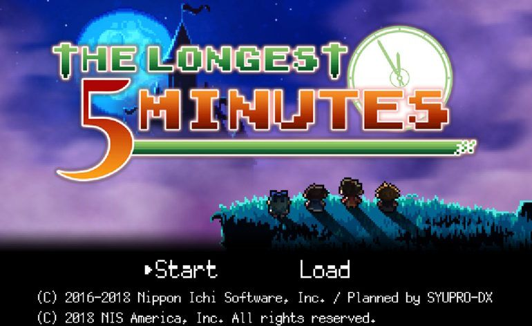 Bon Plan : The longest 5 Minutes sur Switch à 34,99 euros (au lieu de 39,99...)