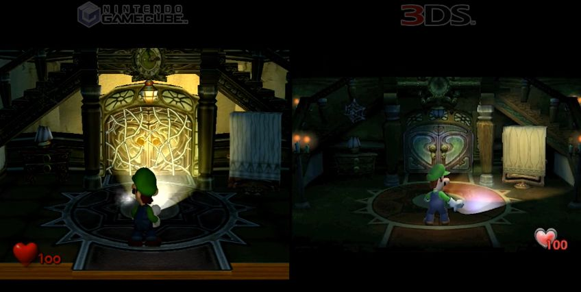 Luigi's Mansion : Le comparatif GameCube - 3DS en vidéo !