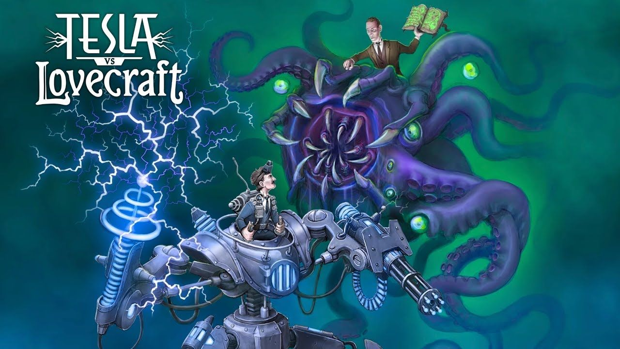 Tesla vs Lovecraft arrive sur consoles de salon