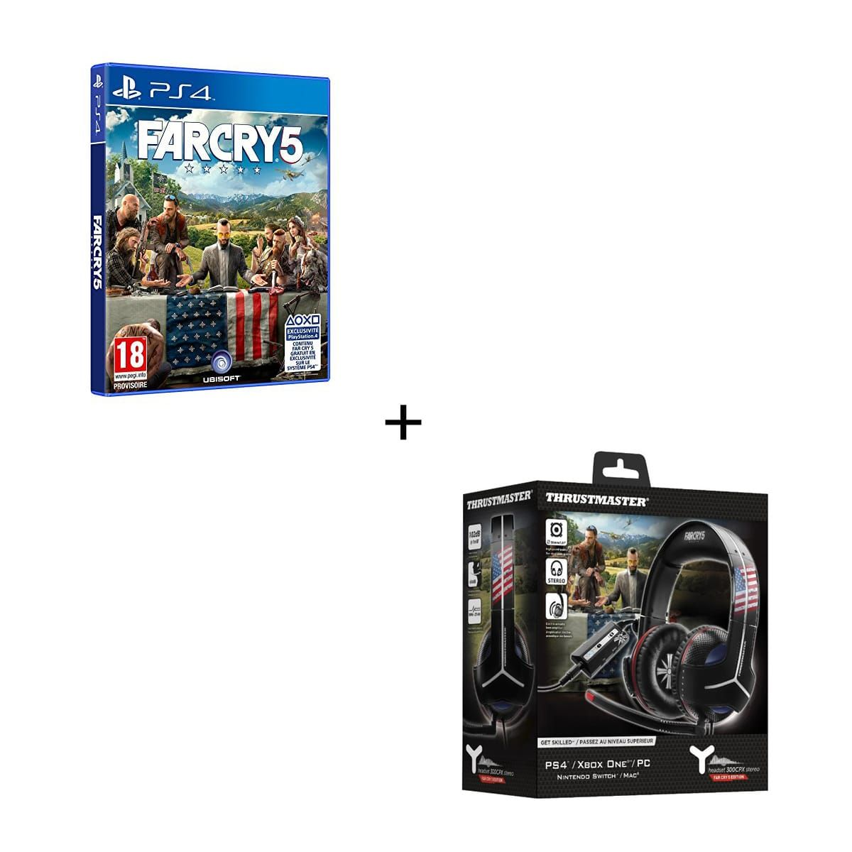 Bon Plan : Casque Gaming Thrustmaster + far Cry 5 à 86,98 euros (au lieu de 121,98...)