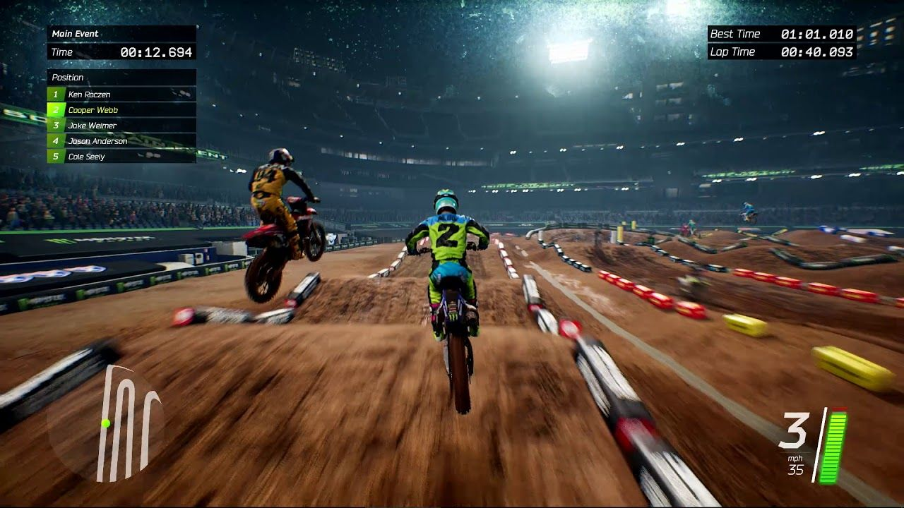 Monster Energy Supercross 2017 : La 'Monster Energy Cup' est disponible
